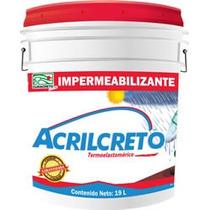 Impermeabilizante Acrilico Terracota 5 Años Curacreto