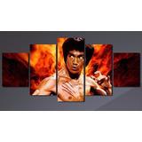 Cuadros Polipticos - Bruce Lee / 150x80cm