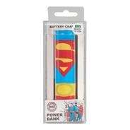 Bateria Externa Portatil Powerbank Dc Superman