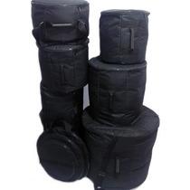 Capa Bag Bumbo18 Surdo14 Tom10 Tom12 E Caixa De 14x8