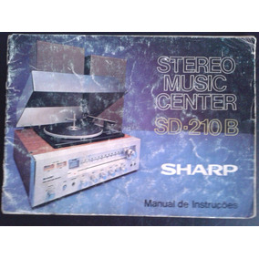 Manual Stereo Sharp Sd-210b