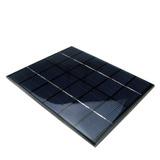Panel Solar De 6v 2w De 10.9cm De Largo X 14.1cm De Ancho