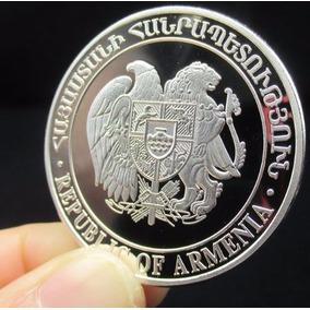 Medalha Colecionável - República Da Armênia Arca De Noé