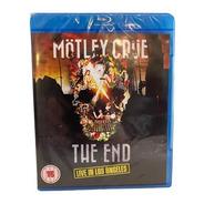 Mötley Crüe  The End  Blu Ray Europeo Nuevo Musicovinyl