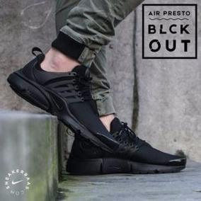 Nike Air Presto 2017 Unisex(stock 42-negro)