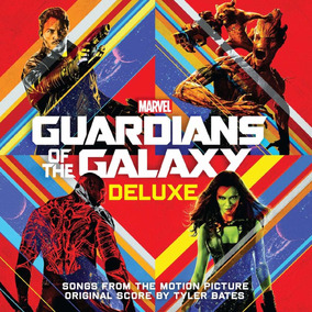 Guardianes De La Galaxia Soundtrack Peliculas 1 Y 2 Cd