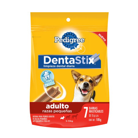 Pedigree Dentastix Pack 7 Barra Masticable 15gr C/u Adulto