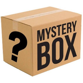 Mystery Box Surpresa Caixa Misteriosa Geek Gamer Black Post