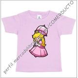 Playera Bebe Princesa Peach Playera Princesa Playeras Mario