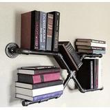 Librero De Pared Estilo Industrial