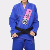 Kimono Femino Jiu - Jitsu Naja New Colors Azul