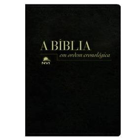 A Bíblia Em Ordem Cronológica - Nvi