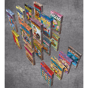 Boxes Para Gibis - Cascão - Editora Globo - Para 10 Edições