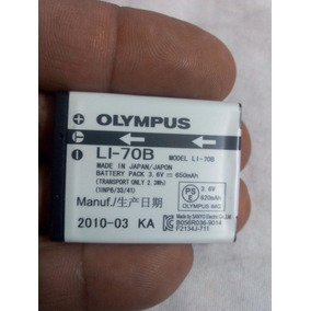 Bateria Litio -70b Para Camaras Olympus Usada Poco Uso