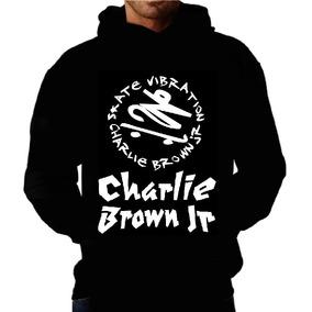 Blusa Moletom Charlie Brown Jr Capuz E Bolso Banda Camiseta