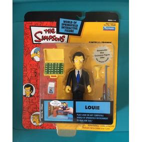 Figura Nueva Mafioso Louie Los Simpsons Playmates Serie 14