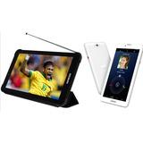 Tablet Função Celular Genesis Dual Sim Tv Gps Wifi 3g 8gb