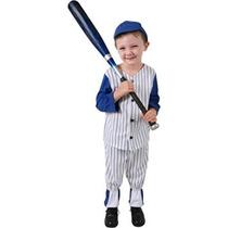 Disfraz Para Niño Traje De Béisbol Del Muchacho Niño (tamañ