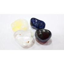 Coleção Bons Negócios/kit 4 Pedras/cristal/ônix/citrino