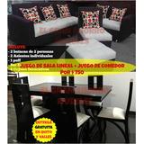 Fabricamos Juego De Sala + Juego De Comedor De 6 X 699 Quito