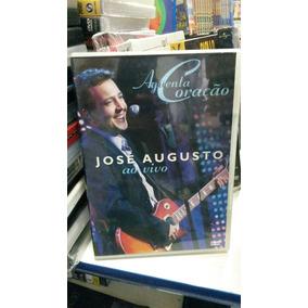 Dvd Original José Augusto - Aguenta Coração (ao Vivo)