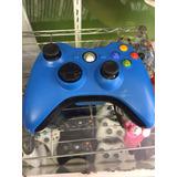 Control De Xbox 360 Microsoft Azul