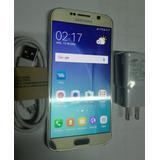 Original Samsung S6 32gb Memoria 3gb Ram Dorado Oro Libre