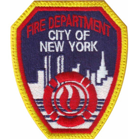 Nueva York Bomberos Parche Bordado Rescate Paramedico