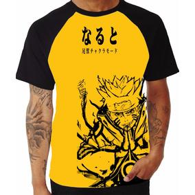 Camiseta Camisa Naruto Kyuubi Shipuuden