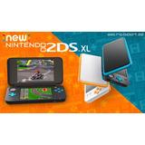 Nintendo New 2ds Xl Nueva + Cargador 220v. Garantia. Envios