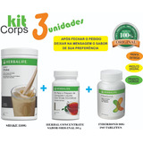Kitcorps Herbalife Shake + Cha Herbal 50g + Fiberbond