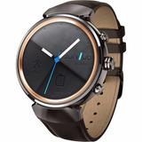 Asus Zenwatch 3 Wi503q-gl-db 1.39 Case Black Correa Cuero
