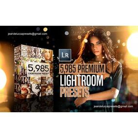 Presets Lightroom Premium 2018 São Mais De 5000 Presets