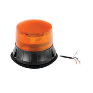 Burbuja Led Giratoria De Color Ambar 9 Led  Epcom    Xp1535a