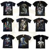 Kit 10 Camisa Camiseta Ogabel Caveira Mexicana Coringa Top