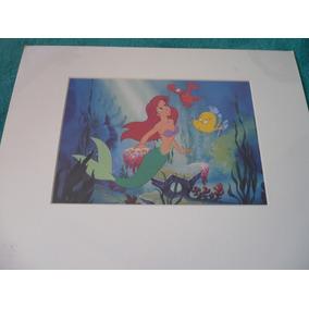 Foto Pequena Sereia Ariel Disney Mgm Studios Decorativa Top