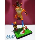 Boneco - Miniatura - Crash - Bandicoot - Games