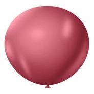 São Roque Balão Metallic 11¨ 25und Aluminizado Cromado