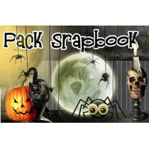 Miles De Scrapbook De Halloween Calabazas Arañas Gatos