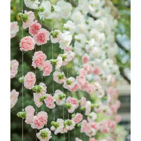 Cortina De Flores De Papel Crepe