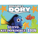 Kit Imprimible Candy Bar Buscando A Dory Golosinas Y Mas
