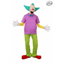 Disfraz Krusty The Simpsons Payaso Halloween Traje Adulto