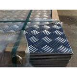 Lamina De Aluminio Estriada 1mm Si Hay Aprovechen ¡¡¡