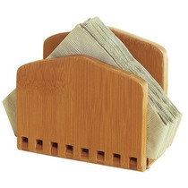 Lipper Bamboo Collection Servilletero Ajustable