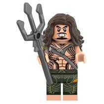 Figura Aquaman Tridente Batman Vs Superman Compatible Lego