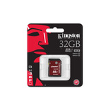 Memoria Sdhc/sdxc Kingston 32 Gb 90/80mb/s U3 (sda3/32gb)