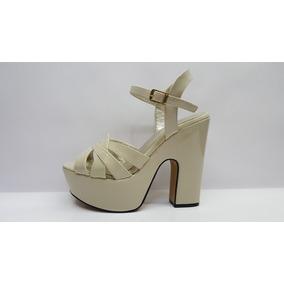 0ab3472ca36 zapatos plataforma taco grueso