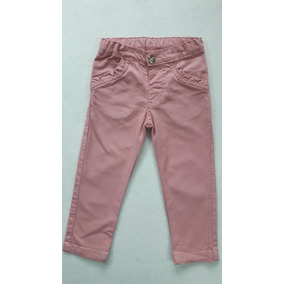 Calça Infantil Menina Jeans Donna Sarja Cedrostrech Have Fu