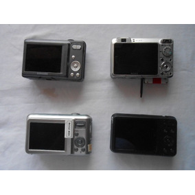 4 Câmeras Digital Samsung E Sony P/aproveitar Peças A84-14