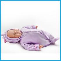 Oferta!! Boneca Baby Bebê Ninos Alive Branco Dormindo